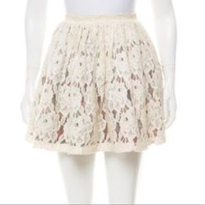OPENING CEREMONY Multi Colored White Skirt